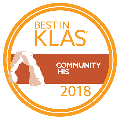 2018 Best in KLAS award for Community HIS