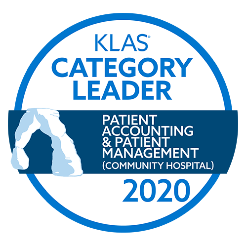 KLAS 2020 Award for Patient Accounting logo