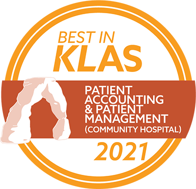 MEDITECH KLAS Award 2021 - Patient Accounting and Patient Management