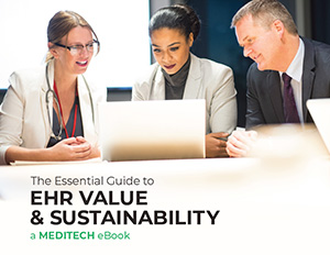 MEDITECH ebook - EHR Value Sustainability