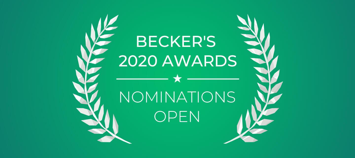 Becker's 2020 Award Lists