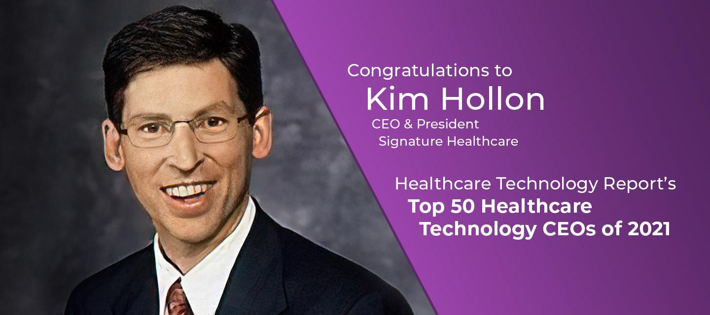 kim-hollon-ceo-signature-healthcare-named-healthcare-technology-reports-top-50-ceos-2021