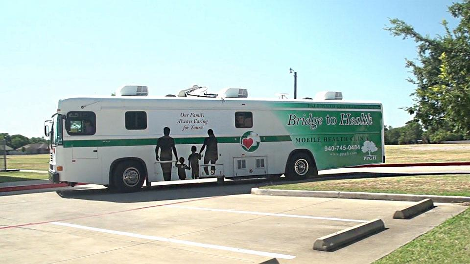 Tour Palo Pinto General Hospital's 'Bridge to Health' Mobile Clinic