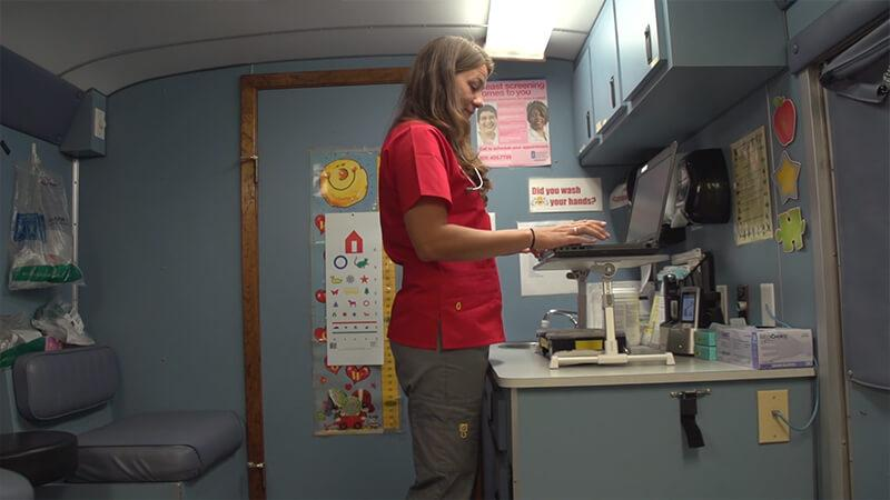 Image placeholder for video about Palo Pinto Mobile Clinic using MEDITECH Ambulatory